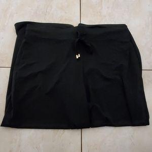 Jones New York Black Stretchy Soft Wide Leg Pants